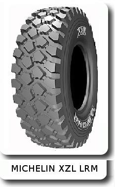 Michelin б.у. 16,00 R20 XZL 173G LRM 22PR TL с сохранностью протектора 93-75%